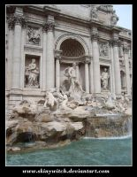 Fontaine de Trevi by skinywitch