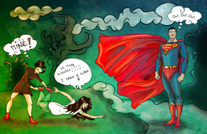I want Superman by LineBirgitte