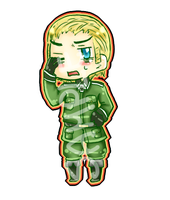 Germany: Chibi keychain sample by black-feather1013