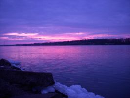 Purple Waterscapes by Rainbow826