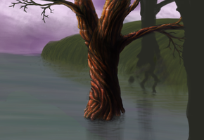 Shiny Swamp Tree by DirkMeister