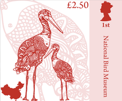 stork stamp by Ricven-Hawklight