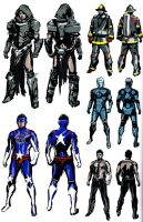 Chris RE6 Extra Costumes 3 by Sparrow-Leon