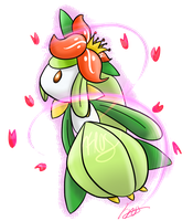 Lilligant by Froslads