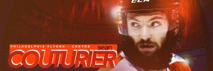 Sean Couturier - Philadelphia Flyers Signature by motzaburger