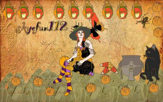 Pumpkin Patch by AeliaNaqwiDesigns