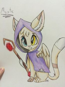 Mystic (colored) by Pinkdolphin147