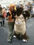 Kangaskhan cosplay by SoulieReborn