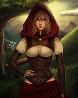 Red Riding Hood by ceriselightning