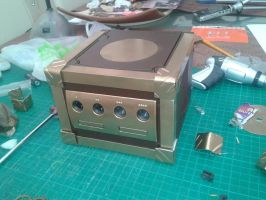 Steampunk Gamecube #2 (WIP) by LordDelightfullyMad