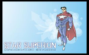 Star Superion - Capital Comics by splendidriver