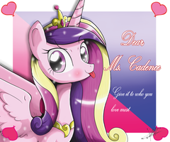 .:Dear,Ms.Cadence:. by The-Butcher-X
