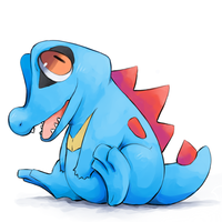 Totodile by Co0kie-Cat
