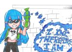 Day 43 - I Ink Therefore I Am by MSMoura