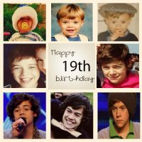 Happy 19th birthday Harry Styles by Momsenrocks