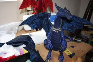 Cloth Artist Doll Dragon by DragonForge311088