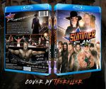 WWE SummerSlam 2015 Custom BluRay Cover by TheReller