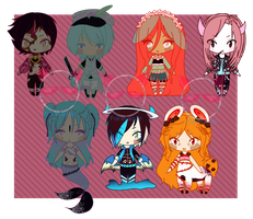 {ADOPTS} - Mixed Batch 3 (CLOSED) by PokeCardz