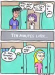Hiding in the Dressing Room by DJgames