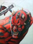 DARTH MAUL by mario-freire