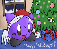 Kirby-RS Holidays '09 by Aruesso