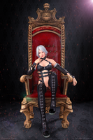 DOA 5 - Dominatrix Christie Collaboration by IshikaHiruma