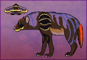012 - Moth Hyena by Janscyther