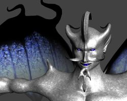 Satan Man Close-up by bloodfilledlungs