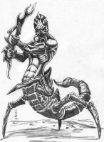 Scorpion King by Adam-Black