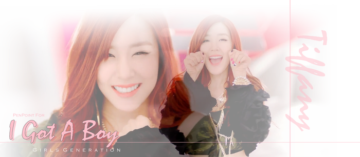 Tiffany IGAB by pen-point