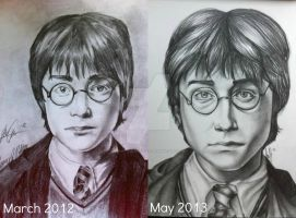 a year's difference. by TemptedSacrifice