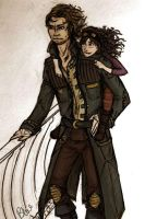 Luther and Riselyn by Aellcee
