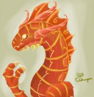 Magma Serpent by Tulidragon