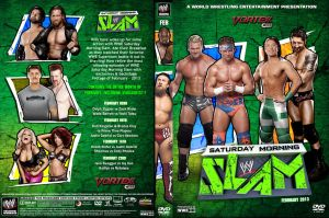 WWE Saturday Morning Slam February 2013 DVD Cover by Chirantha