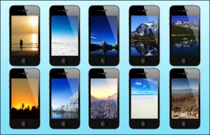 iPhone 4 HD Wallpaper Pack 1 by seb88