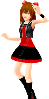 KH OC's Day -4th- : Lilium by Silith2002