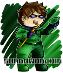 DC: The Riddler by ShadowHachia