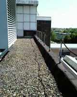 old factory roof top by priesteres-stock