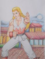 Andy Bogard by Freddy-Kun-11
