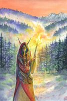 Mountain witch by Manuela-M