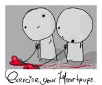exercise your heartpups. by boobookittyfuck