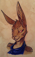 Hare Comes the Smoulder by VampireSelene13