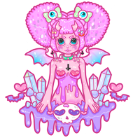 666 Cutie - Art Trade by MissJediflip