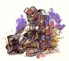 Badly Missing Borderlands by AstroCrush