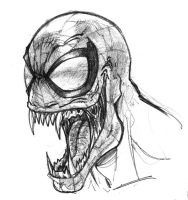 Daily Sketch - Venom by channandeller