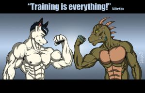 Training is everything by ReptileCynrik