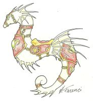 Seahorse, Blood Elf Style by SP-Gorse