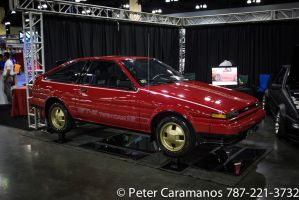 Restored Vintage Toyota AE-86 Corolla by Caramanos2000