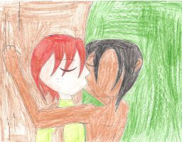 ToothCup week day 1 - First Kiss by WarriorNun