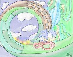 Running around the Lost World by PokeSonFanGirl